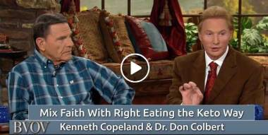 Mix Faith With Right Eating the Keto Way - Kenneth Copeland (22-02-2018)