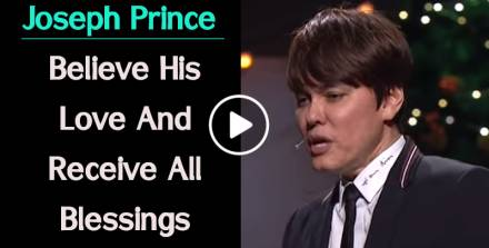 Joseph Prince (January-03-2019) - Believe His Love And Receive All Blessings