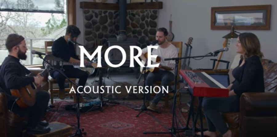 Bethel Music, Jeremy Riddle (Aug 8, 2018) - More (Acoustic Version)
