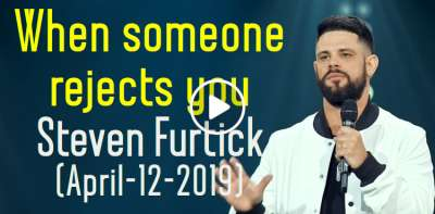 When someone rejects you - Steven Furtick 1-Minute Motivation (April-12-2019)