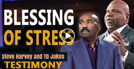 The Blessing of Stress - Steve Harvey and TD Jakes (December-28-2020)