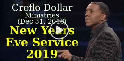 Creflo Dollar Ministries (December 31, 2018) - New Years Eve Service 2019