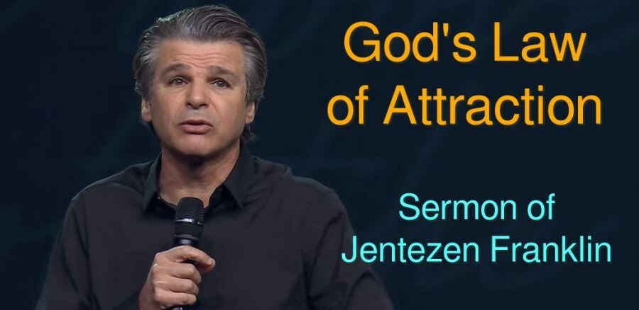 God's Law of Attraction - Pastor Jentezen Franklin (January-30-2018)