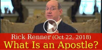 Rick Renner (October 22, 2018) - What Is an Apostle?