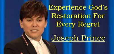 Experience God's Restoration For Every Regret - Joseph Prince (4-Mar-2018)