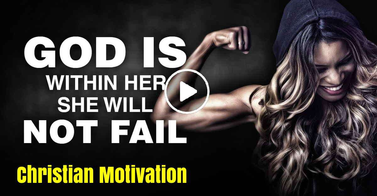GOD IS MY STRENGTH! - Christian Motivation