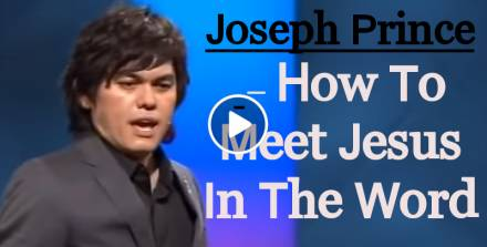 Joseph Prince (Jan 29, 2012)- How To Meet Jesus In The Word