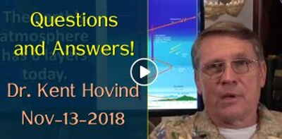 Dr. Kent Hovind: Questions and Answers! (November-13-2018)