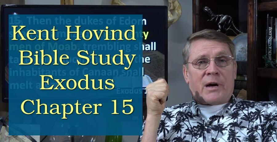 Kent Hovind Exodus Chapter 15: Song of Moses! (1-18-18)
