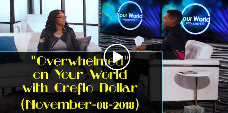 """Overwhelmed"" on Your World with Creflo Dollar (November-08-2018)"