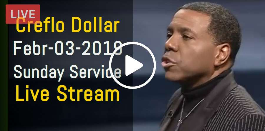 Creflo Dollar February-03-2019 Sunday Service Live Stream