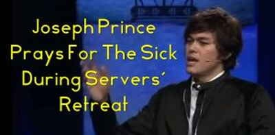 Joseph Prince Prays For The Sick During Servers' Retreat