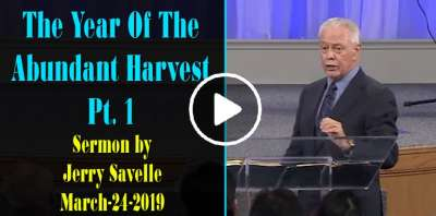 The Year Of The Abundant Harvest Pt. 1 - Jerry Savelle (March-24-2019)